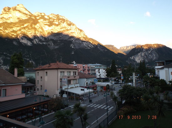 Hotel Brione: View from bedroom balcony