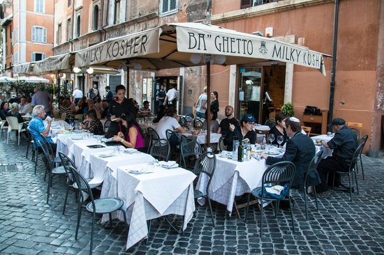 Rome For Jews : Kosher lunch in the Jewish Ghetto