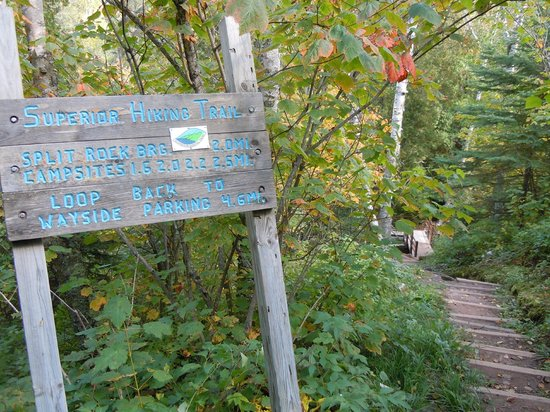 Split Rock Loop Trail: Start of the Split Rock loop
