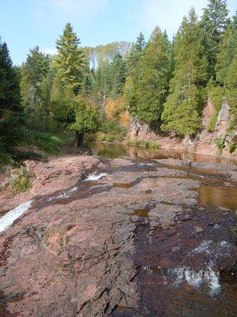 Split Rock Loop Trail: Typical scene along the trail