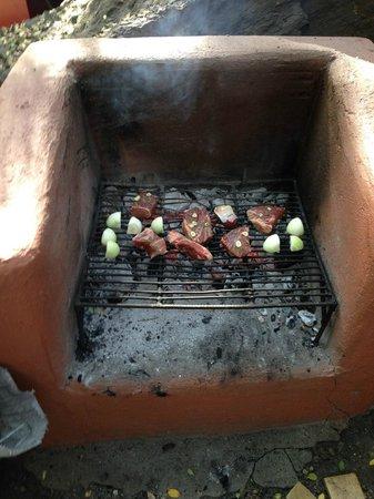 Cascada de las Animas: BBQ