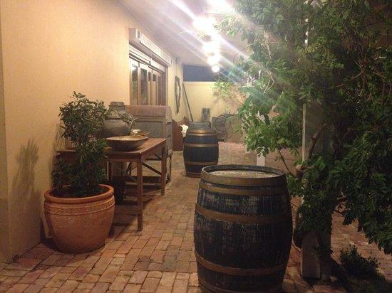 Bistro Molines: outdoor rustic charm