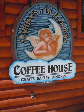 Louise's Place: Sign outside