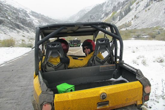 San Juan Backcountry: Our friends in one of the carts.