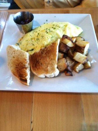 Twisted Olive: Omelet with wonderful potatos