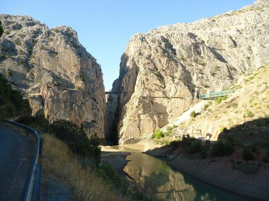 Caminito Del Re : Desfiladero de los gaitanes