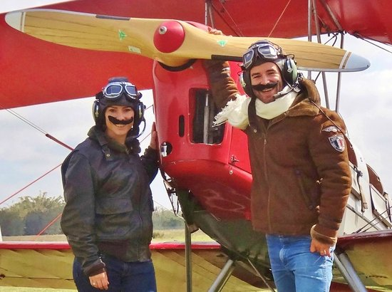 Tiger Moth Joy Rides: Looking and feeling like vintage pilots