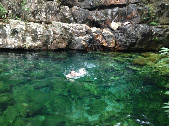 Alto Paraiso de Goias, GO: Cachoeira Xamã.