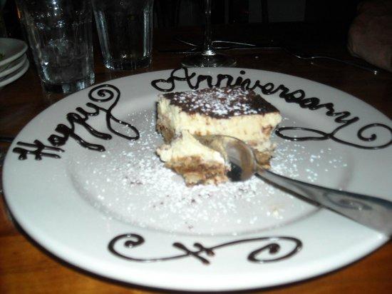 Azure Cafe: surprise dessert