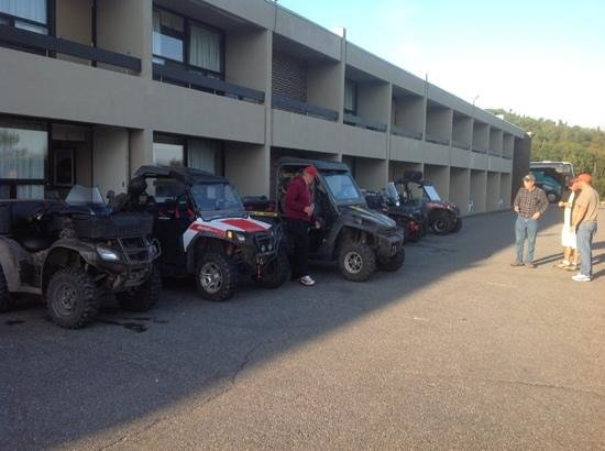 Clarenville Inn: ATV trip across Nfld.