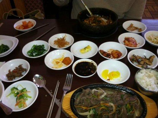 Arirang Korean Restaurant: Korean dish