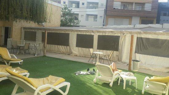 Los Sauces Hotel & Spa: patio