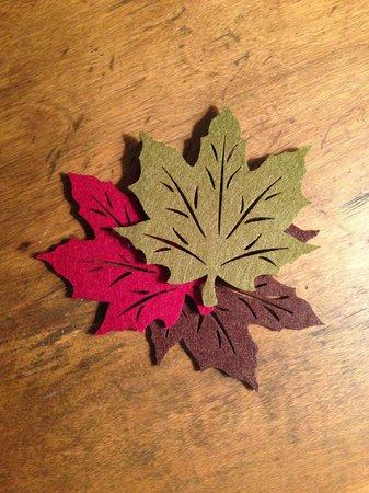 The Woodbridge Inn: A little bit of fall color
