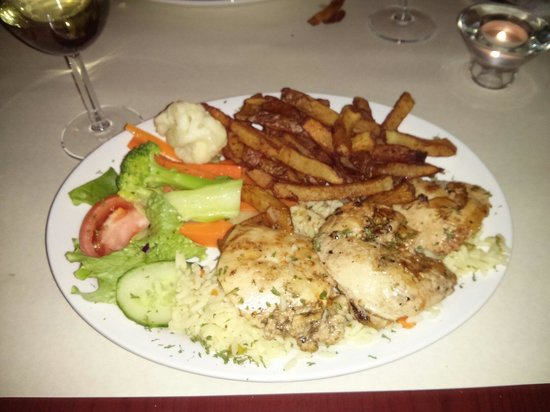 Le Rio Restaurant : Panhandle chicken. Mmm good!