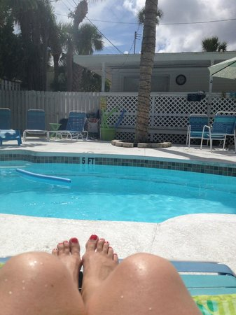 The Inn on Siesta Key: wonderful pool