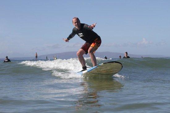 Waves Hawaii Surf School: Surfer dude shaka