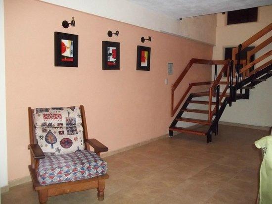 Hotel Tehuel: Pasillo 2do piso