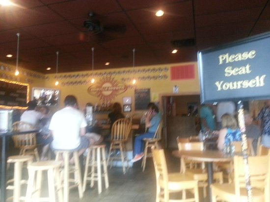 Asheville Pizza & Brewing Co.: Entrance