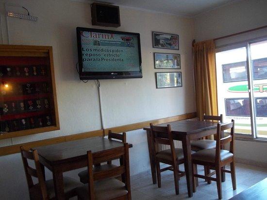 Hotel Tehuel: Salon para mirar tele