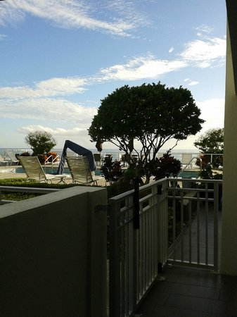 Lotus Boutique Inn & Suites Daytona Beach / Ormond Beach: view from our room door
