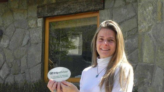 Rio Hermoso Hotel de Montana: Manager encantadora