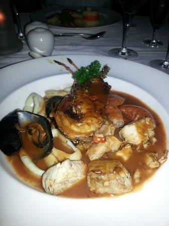 Grand Bahia Principe El Portillo: Cena Restaurante El Pescador