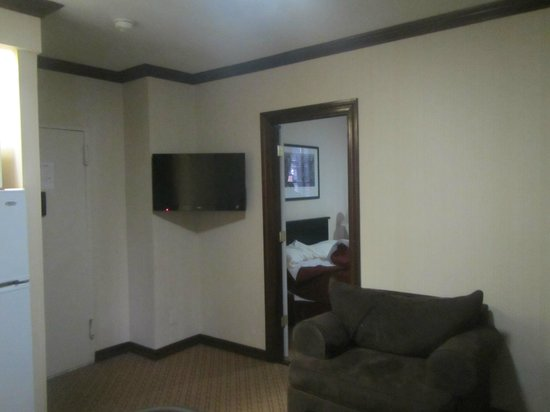 Radio City Apartments: From living area to bedroom