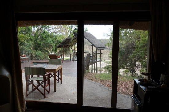 Jock Safari Lodge: Vista da cama