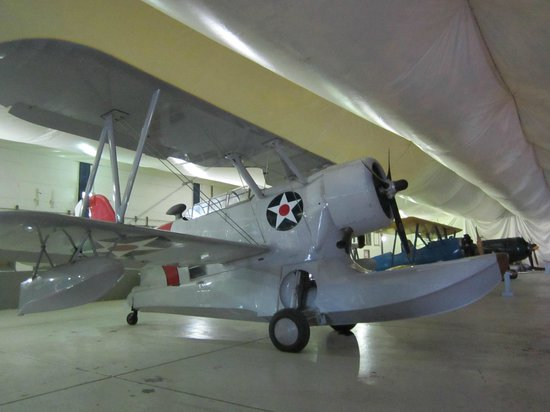 Tillamook Air Museum: One of many unusual planes