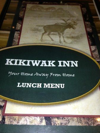 Niska Dining Room and Lounge: Lunch time Menue