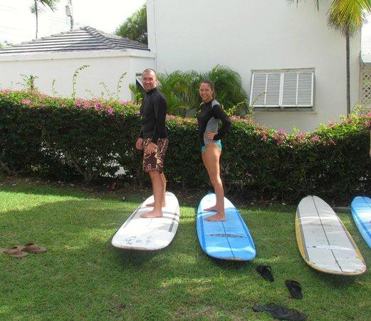 Boosy's Surf School: Learning the basics