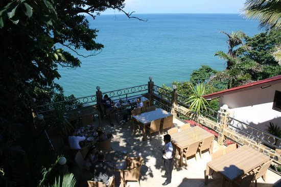 Pauls Restaurant: Sun and Sea, absolut private