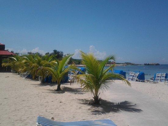 Labadee: playa
