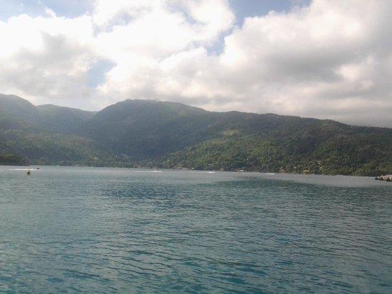 Labadee: línea de costa