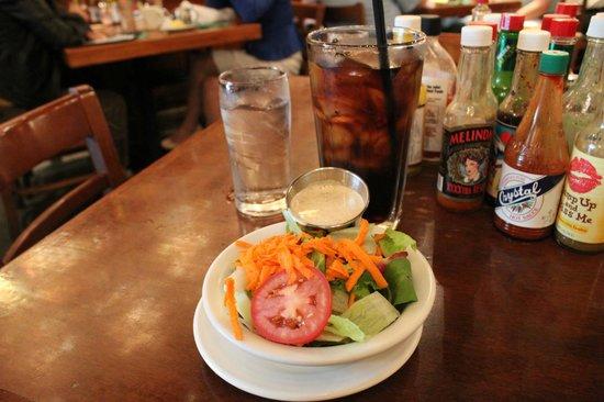 Heaven on Seven : Salada?