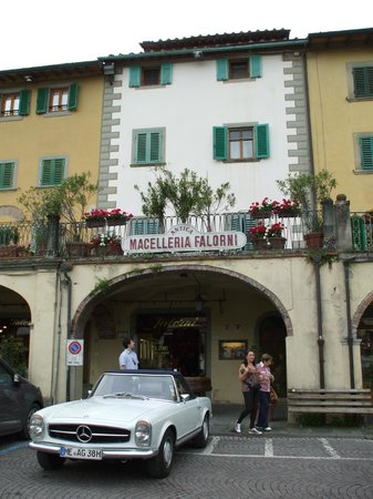 Tuscany Car Tours: Paolo recommended Antica Macelleria Falorni - the oldest butcher shop in Italy.