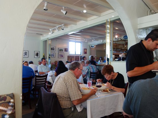 Monterey's Fish House : Filled with light and good cheer.