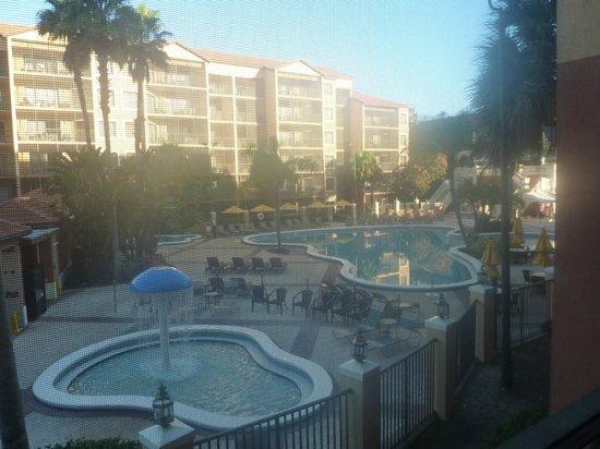 Westgate Lakes Resort & Spa: vista das piscinas