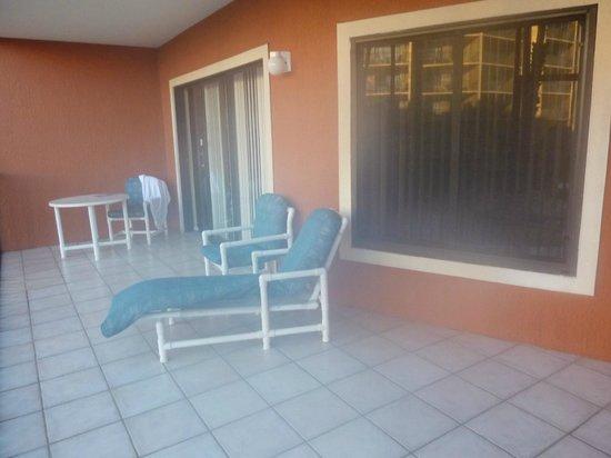 Westgate Lakes Resort & Spa: Varanda