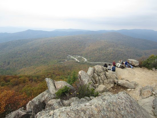 Mary's Rock Summit Trail : Where the trail meets the summit