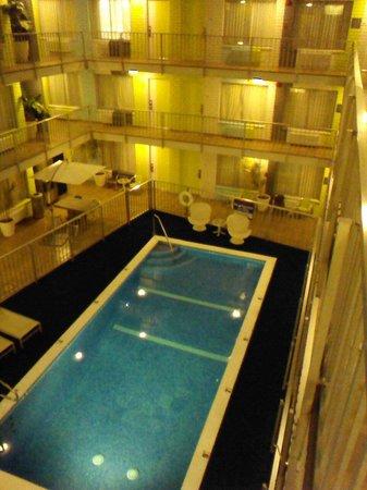 BEST WESTERN PLUS Hollywood Hills Hotel : Vue 3ieme étage