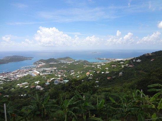 Henry's Triple E Tours: View of St Thomas during tour