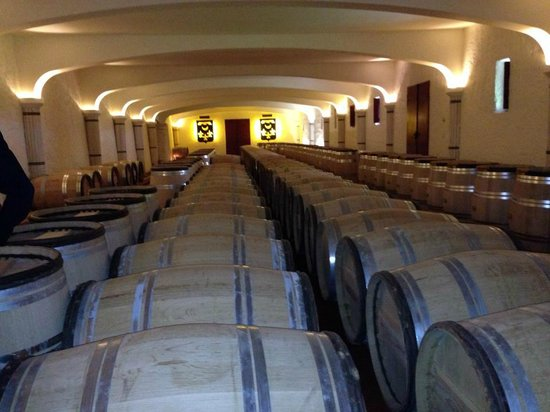 Chateau Smith Haut Lafitte: The barrels