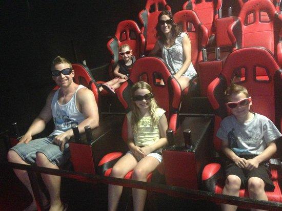 7D Cinema: inside