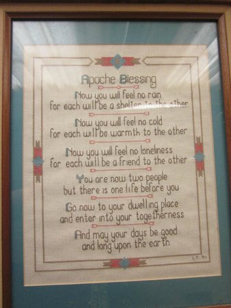 Lake Wales Depot Museum & Cultural Center: Apache Blessing