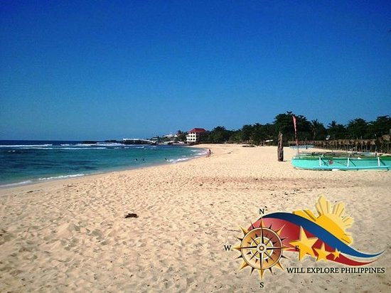 Patar white sand beach bolinao pangasinan picture of for White sand beach vacations