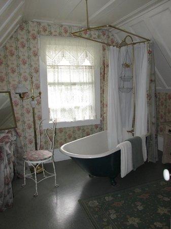 Shaw House : Our whimsical bathroom