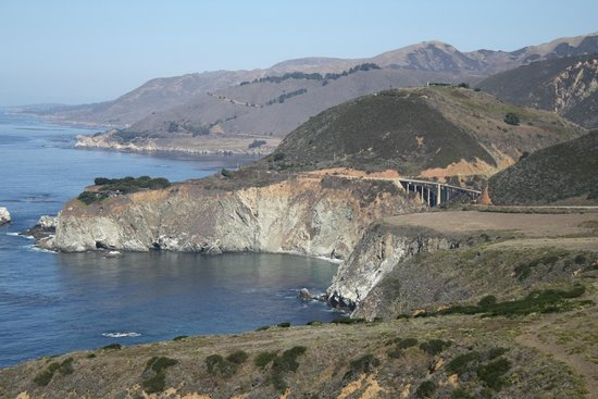 View Of Bixby Bridge Looking North From Big Sur Picture