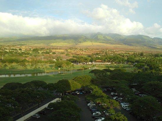 Westin Maui Resort And Spa : mountain view