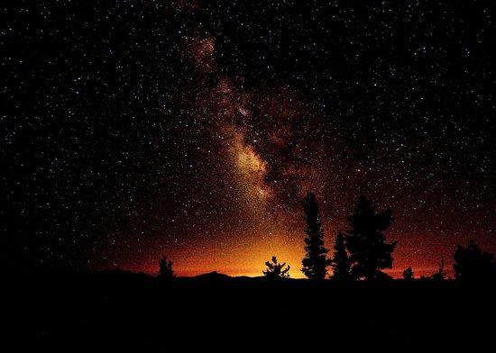 Yosemite High Sierra Camps: Milky Way over May Lake